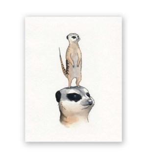 Meerkat Mother�s Day Card