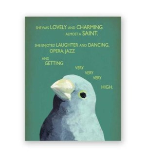Saint Note Card