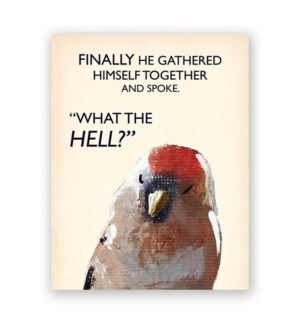Finally He Gathered Himself Card