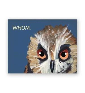Whom Card