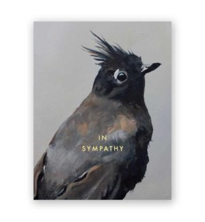 Sympathy Bird Note Card