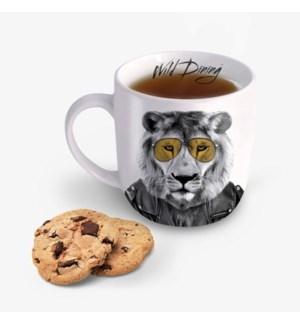 Wild Dining Mug - Lion