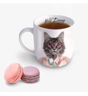 Wild Dining Mug - Cat