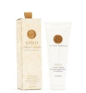 Gold Hand Cream 4 oz