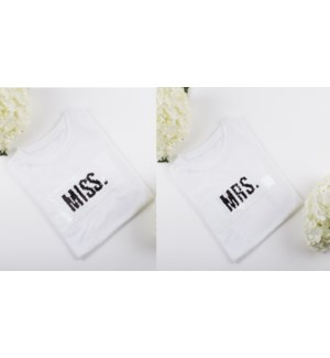 Seq Tee - Miss/Mrs (6PPK)