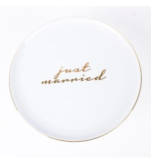 Cake Stand-Toasting Just Marry