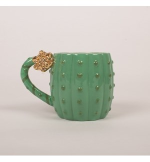 Coffee Mug Green Cactus