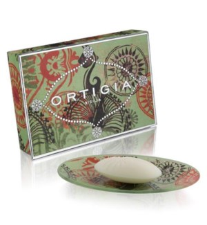 FICO D'INDIA GLASS PLATE AND SOAP