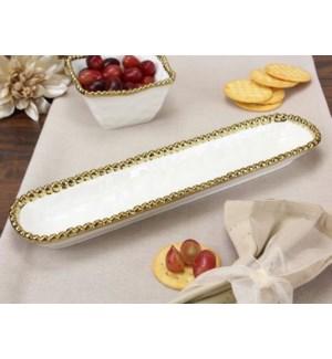 Golden Salerno Cracker Tray