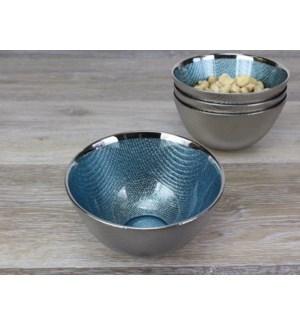 When Glass Meets Titanium Snack bowl