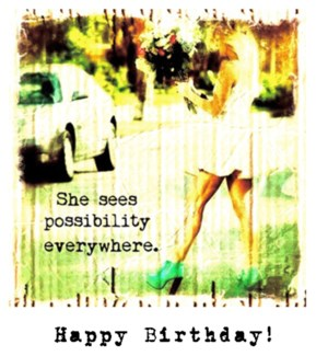 HB She sees possibility
