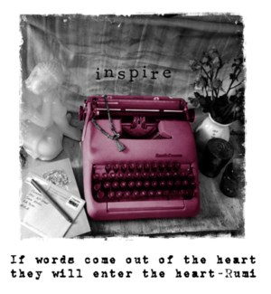 Words come out of heart