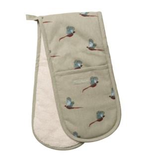 Double Oven Glove - Pheasant
