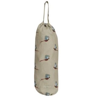 Carrier Bag Holder - Pheasant