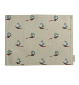 Fabric Placemat - Pheasant