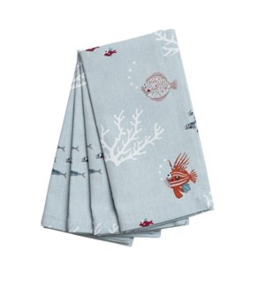 Napkins (Set Of 4) - What A Catch