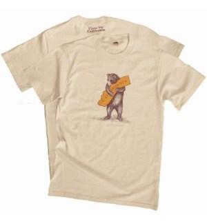 Men's - CA Bear Hug Tee - Large