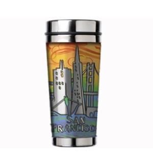 SF Skyline Insulated Travel Mug