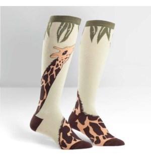 Women's Knee Funky: Giraffe