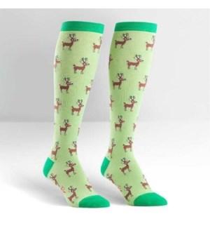 Women's Knee Funky: Reindeer Games