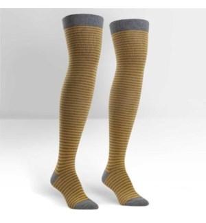 Women's Over the Knee: Mustard/Heather