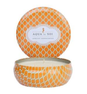 Aqua De SOi Apricot Sandalwood 3 Wick Tin