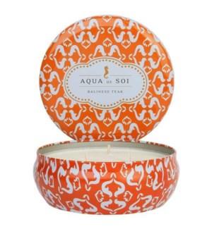 Aqua De SOi Balinese Teak 3 Wick Tin
