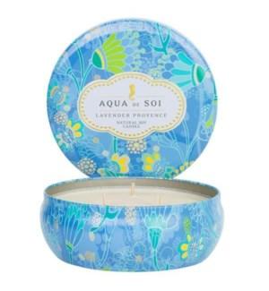 Aqua De SOi Lavender Provance 3 Wick Tin