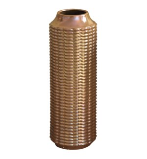 LENNON VASE- LARGE | Copper Finish on Ceramic