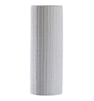 LARISSA VASE | Sand Gray Finish on Ceramic