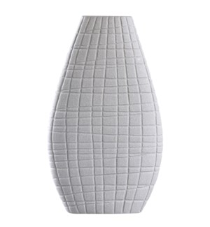 VOLOS VASE | Sand Gray Finish on Ceramic