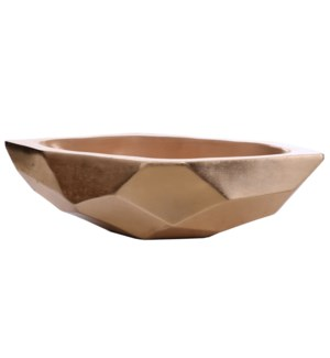 TAHA BOWL | Gloss Gold Finish on Resin