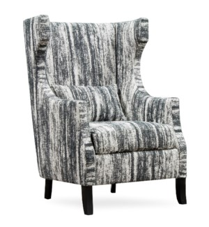 HUNTINGTON CHAIR | Zara Caviar Fabric on Hardwood Frame