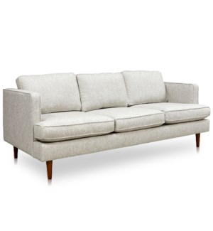 PERKINS SOFA- LINEN | Brunswick Linen Fabric on Hardwood Frame