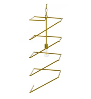 INDRA PENDANT- GOLD | Painted Gold Finished Metal