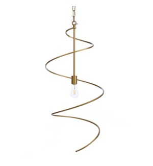 AVILA PENDANT SMALL - GOLD | Painted Gold Finished Metal
