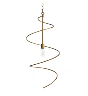 AVILA PENDANT LARGE- GOLD | Painted Gold Finished Metal