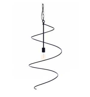 AVILA PENDANT SMALL -  BLACK | Painted Black Finished Metal