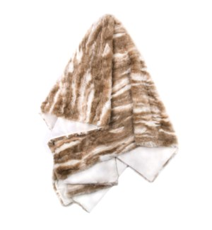 PIMA THROW- CREAM TAN | Faux Fur