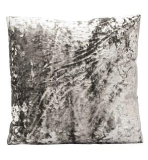 XANADU PEWTER PILLOW | Down Feather Insert