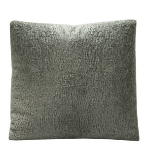 ARIES CHARCOAL PILLOW | Down Feather Insert