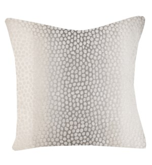 MYLES IVORY PILLOW   Down Feather Insert