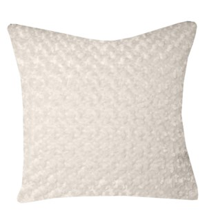 WINTER WHITE PILLOW   Down Feather Insert