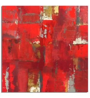 MATRIX RED CANVAS ART
