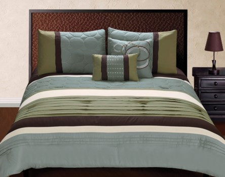 Jackson 5 pc Queen Comforter Set