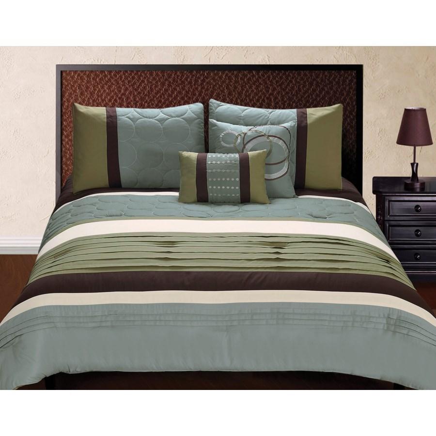 Jackson 5 pc Queen Comforter Set