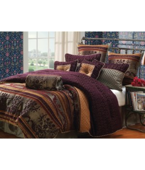 Petra 9 pc QN Comforter Set