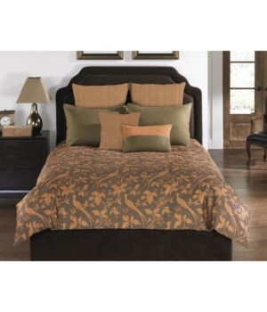 Abbington Hill 6 pc Queen Comf. Cov.w/Filler Set (angelo:HOME USA)