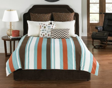 Speedwell Square 3 pc Twin Comf. Cov.w/Filler Set (angelo:HOME USA)