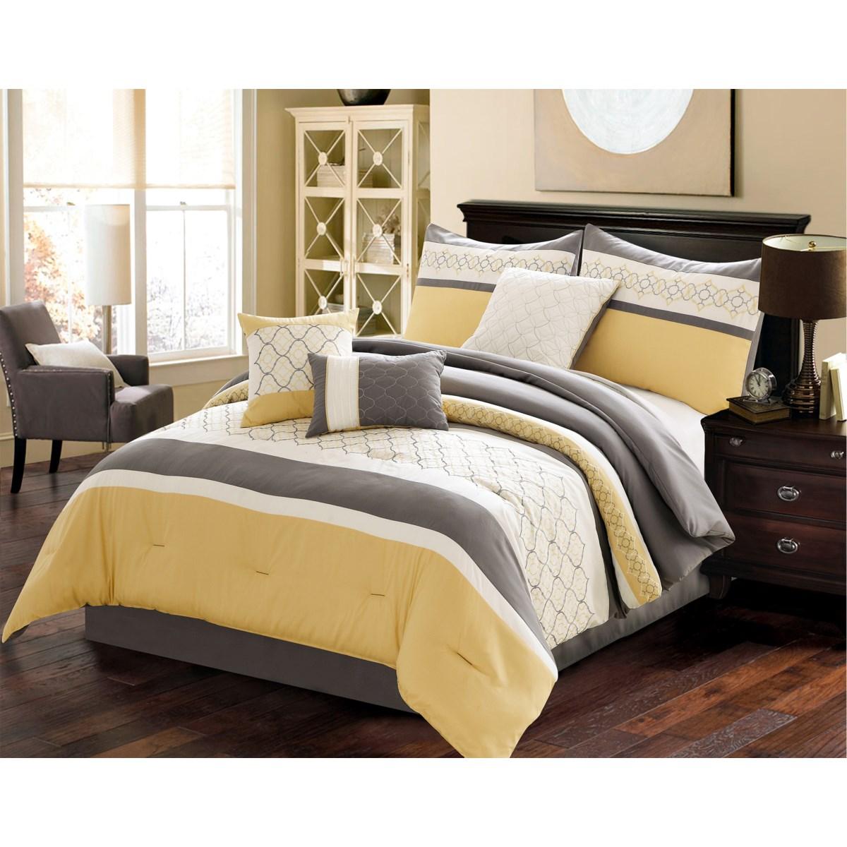 Vermont 7 pc Queen Comforter Set